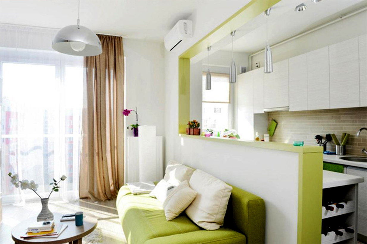 Дизайн маленькой квартиры 40 кв м